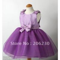 1-pcs-bow-purple-color-girl-s-dresses-children-girl-princess-lace-skirt-dress