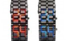 1pc-fashion-lava-iron-samurai-metal-led-gentle-men-s-man-digital-led-casual-quartz-wrist