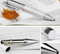 30-off-chinese-new-year-crazy-sales-white-crystal-pen-swarovski-crystal-5-refills-free-shipping
