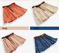 4-colors-pleated-floral-chiffon-women-ladies-cute-mini-skirt-belt-include-3830