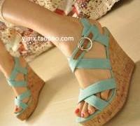 2013-sandals-casual-platform-shoes-high-heeled-platform-wedges-platform-shoes-female-shoes-free-shipping
