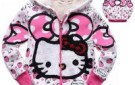 2013-winter-children-s-clothing-hello-kitty-hand-berber-fleece-child-cardigan-baby-cotton-padded-jacket