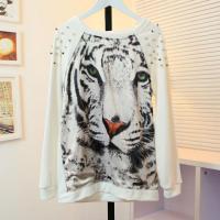 cherry-in-the-eden-free-shipping-silks-and-satins-tiger-print-rivet-raglan-sleeve-thick-sweatshirt
