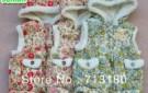 china-wind-sunlun-free-shipping-scg-9006-girls-flower-printed-pattern-waistcoat