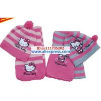 christmas-gift-free-shipping-2012-girl-fashion-girls-love-hello-kitty-fashion-scarf-hat-knitting-10