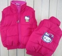 dmj003-retail-and-wholesale-hot-sale-girls-vest-children-cute-outwear-kids-standing-collar-hello-kitty