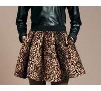 free-shipping-2013-new-wind-restoring-ancient-ways-leopard-grain-short-skirt-pengpeng-short-skirt-b194