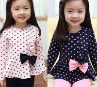 free-shipping-children-clohting-spring-autumn-sets-girls-clothes-kids-wear-bow-bowknot-long-sleeve-stripe