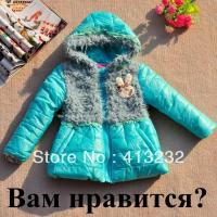 free-shipping-girls-cute-furry-pure-color-lovely-rabbit-jacket-children-s-coat-cotton-clothing-scg