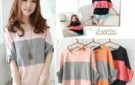 free-shipping-womens-fashion-style-striped-three-color-patchwork-half-sleeve-tshirt-loose-batwing-sleeve-top.jpg_220x220