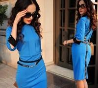 free_shipping_2014_victoria_star_short_sleeve_slim_zipper_fashion_dresses_sexy_club_dress_belt_s_m_l_xl.jpg_200x200