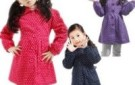 gary-spring-and-autumn-girls-clothing-clothes-polka-dot-casual-clothing-outerwear-overcoat-long-design-11072