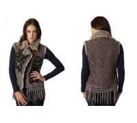 hot-selling-desigual-women-fur-vest-embroidered-suede-fringed-grass-vest