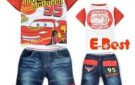 new-design-free-shipping-baby-boys-cartoon-clothing-sets-short-sleeves-cars-t-shirt-short-jeans