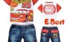 new-design-free-shipping-baby-boys-cartoon-clothing-sets-short-sleeves-cars-t-shirt-short-jeans