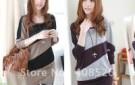 new-hot-women-s-cotton-batwing-long-sleeve-casual-t-shirt-wide-stripe-blouses-splice-tops