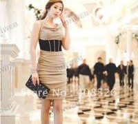 new-style-women-s-fair-lady-korea-sexy-slim-fitting-sleeveless-dress-milk-silk-apricot-drop