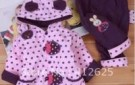 promotion-new-free-shipping-infant-clothing-girls-lined-clothes-cotton-padded-jacket-suits-3-color-available