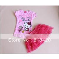 retail-2013-new-arrival-high-quality-girls-hello-kitty-summer-dress-shortsleeve-kitty-shirt-tutu-lace