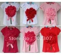 retail-baby-free-shipping-big-flower-t-shirt-cotton-short-sleeve-tee-1pcs-lot-8920