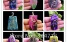 wholesale-9pcs-lot-beautiful-mixed-color-dragon-veins-agate-pendant-bead