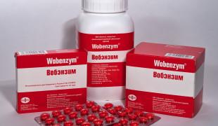 Вобэнзим-и-алкоголь
